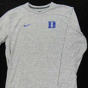 Duke BlueDevils Nike L/S Basketball Practice Shirt
